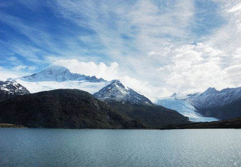 Glacier Alley, the northwest arm of the Beagle Channel