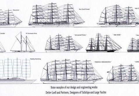 Examples of Detlev Loell and Partners' design and engineering works