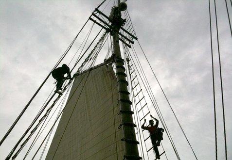 Tocorimé rigging