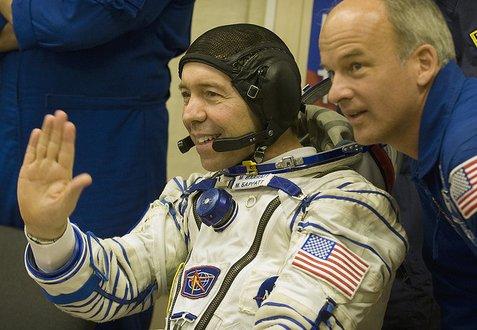 Astronaut Mike Barratt